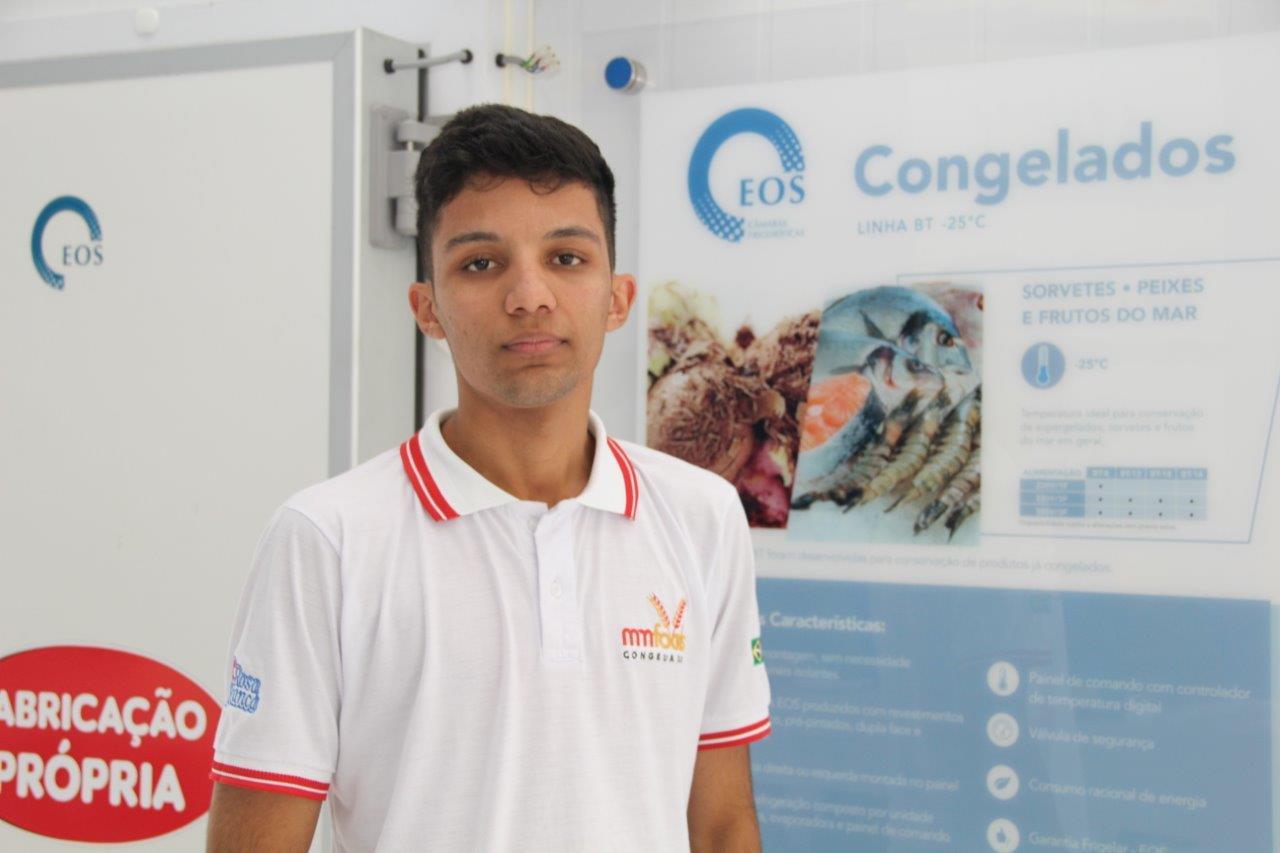 Refrigerista Danilo Santana da Silva