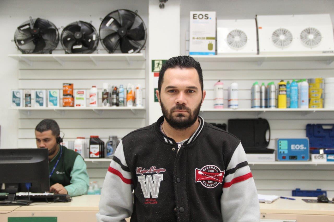 Refrigerista Ítalo Bruno Calvante de Andrade