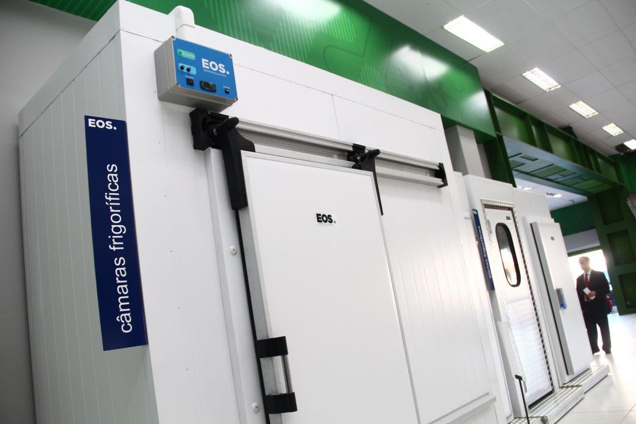 Câmara frigorífica EOS - Frigelar