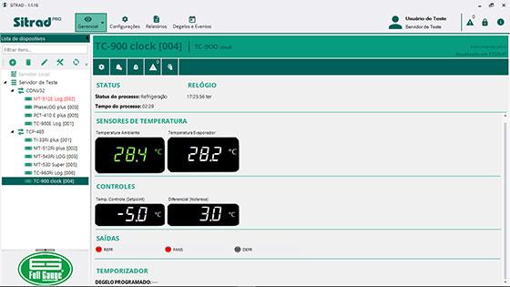 Sitrad PRO - Full Gauge Controls