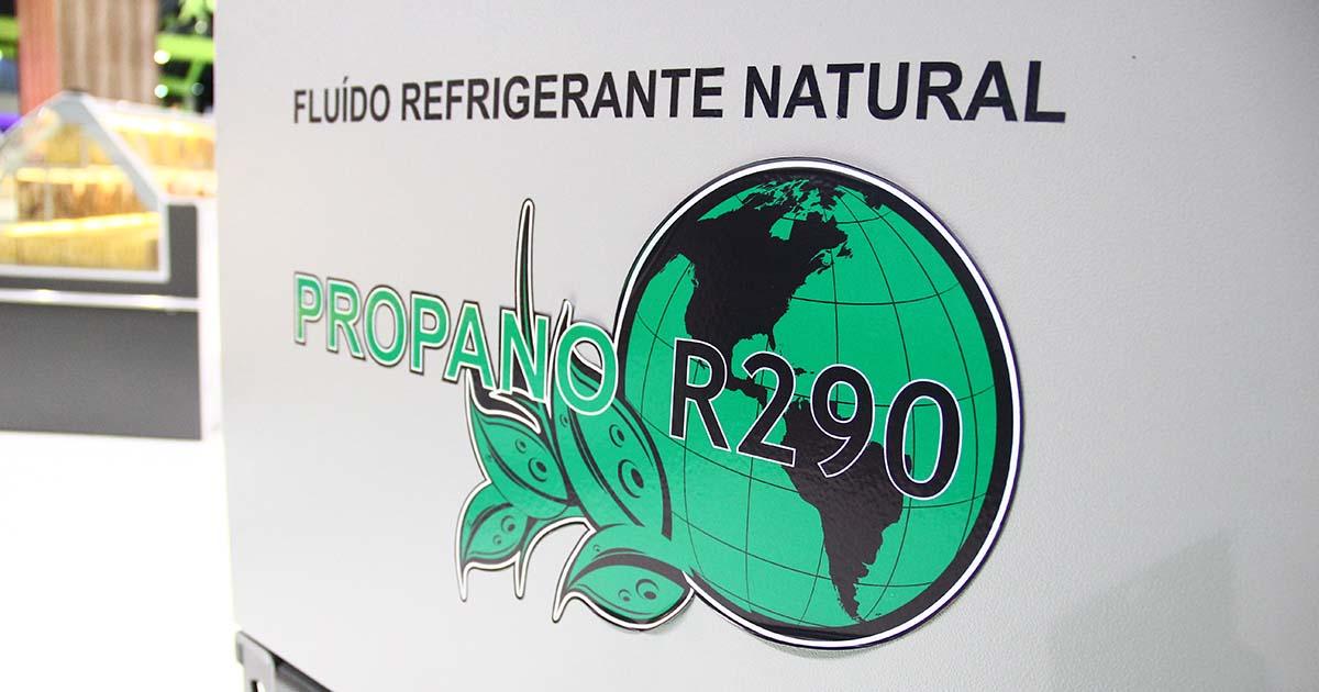 Fluidos refrigerantes naturais - Propano
