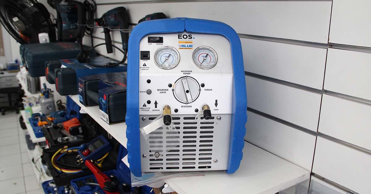 Recolhedora de gás refrigerante EOS