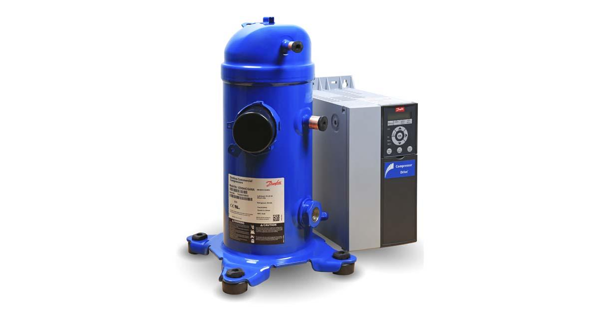Compressor VLZ Danfoss para sistemas de refrigeração comercial
