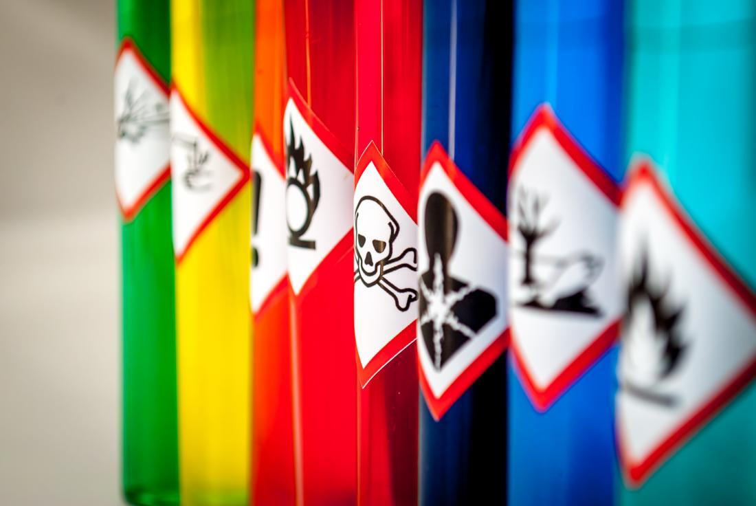 Alerta de toxicidade de substâncias químicas