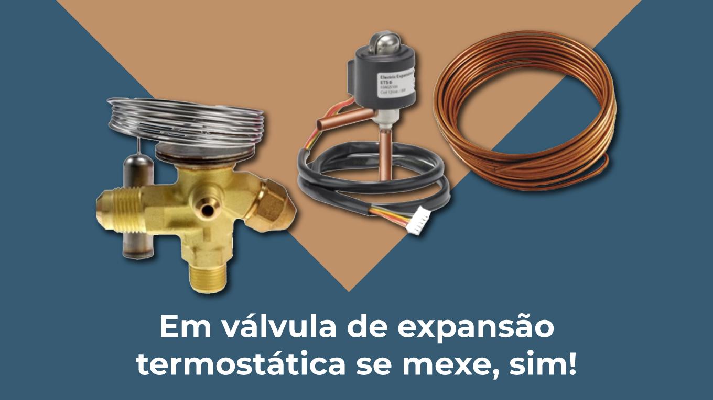 tipos de valvula de expansão termostática para câmara fria